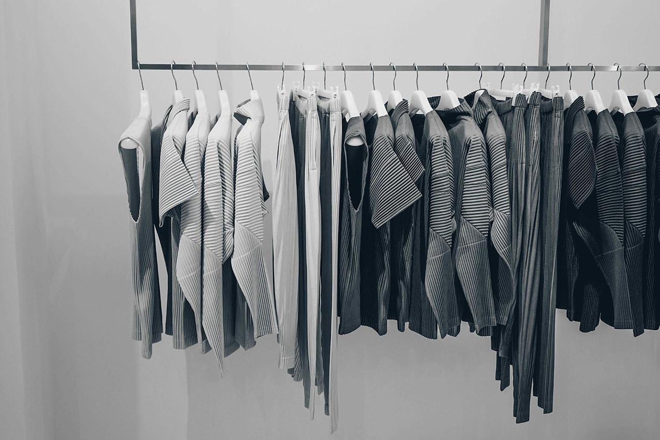 Kleiderständer für Arbeit als Style Coach