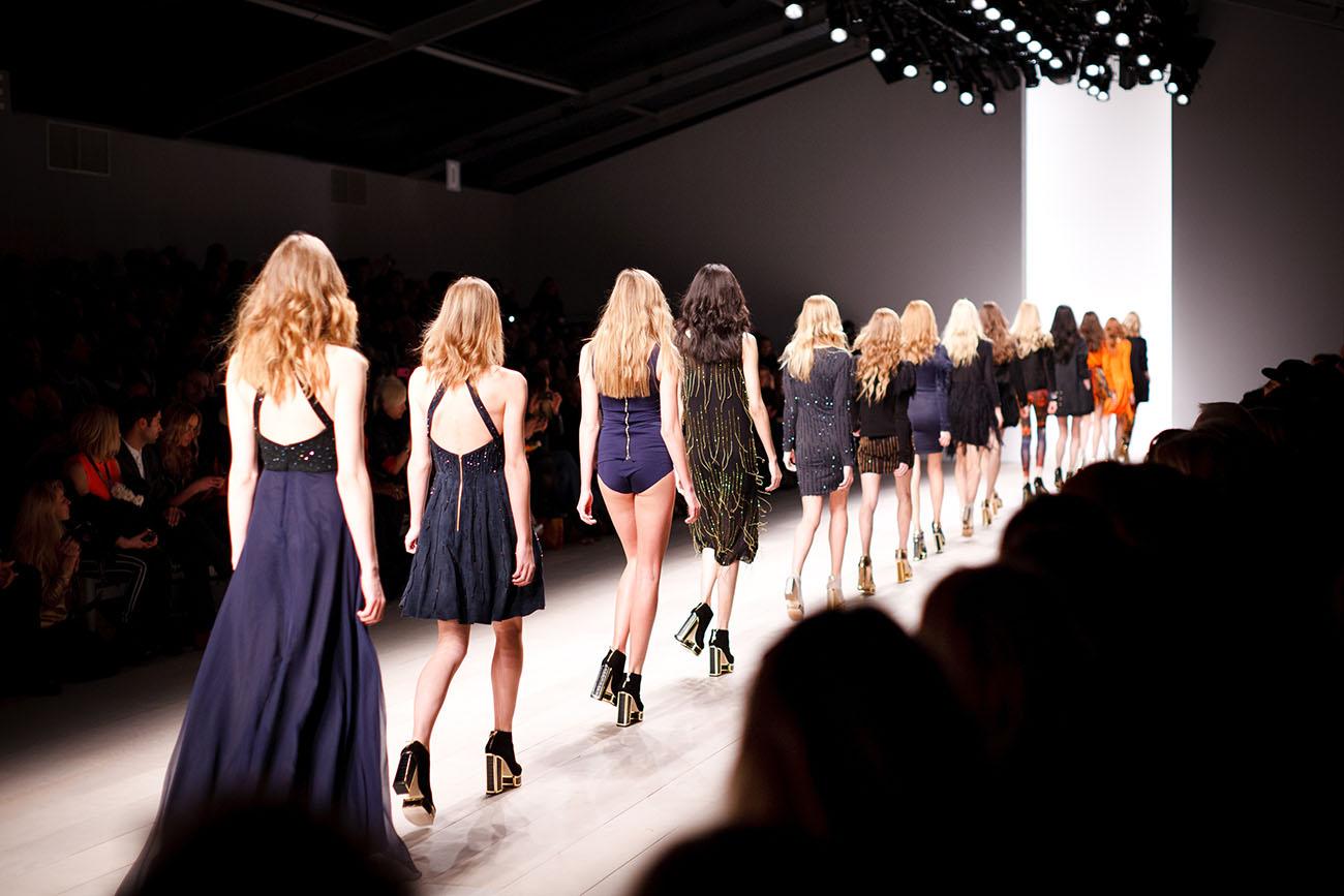 Was beachten bei Modle werden - Fashionshow