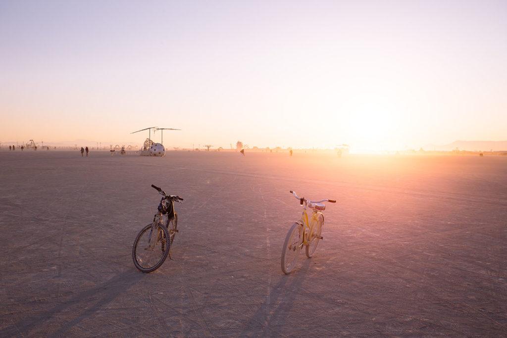 Burning Man Festival in der Wüste